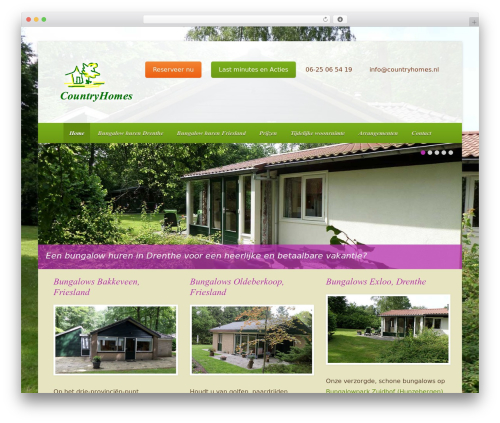WordPress background-manager plugin - countryhomes.nl