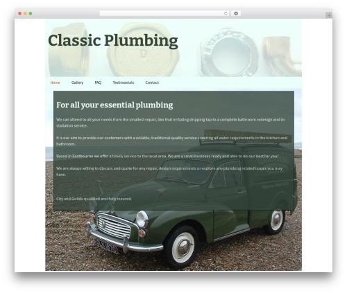 cp WordPress page template - classicplumbing.co.uk