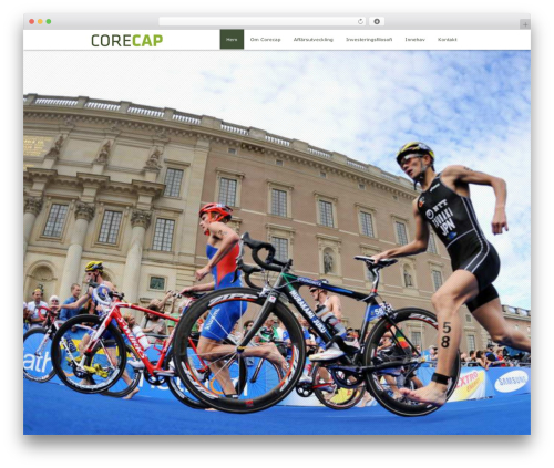 Encore best WordPress theme - corecap.se