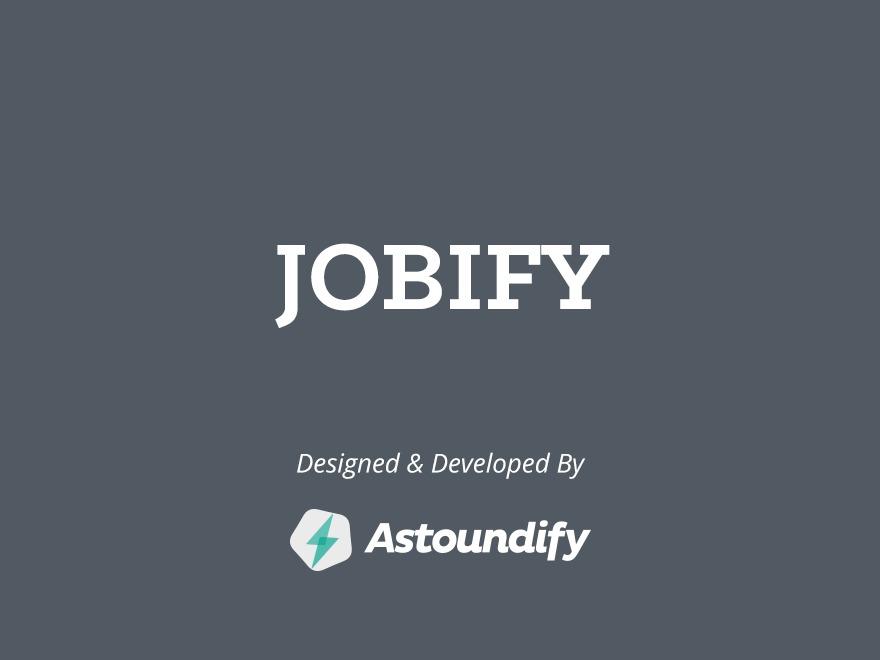 Jobify (shared on wplocker.com) WordPress store theme