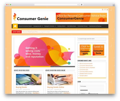 Free WordPress SlickQuiz plugin - consumer-genie.co.uk