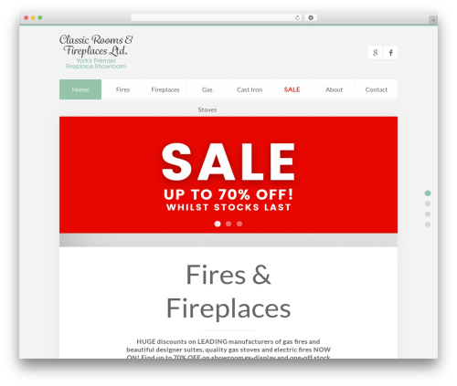 Theme WordPress Unity - classicroomsandfireplaces.co.uk