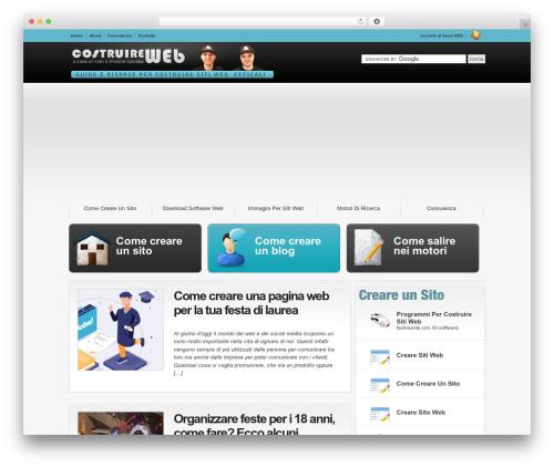 Convergence WP theme - costruireweb.it