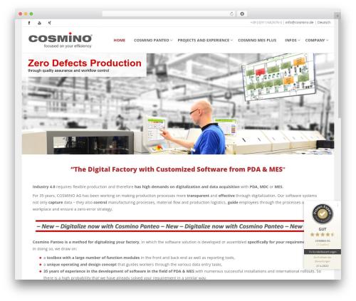 Cosmino template WordPress - cosmino.de/en