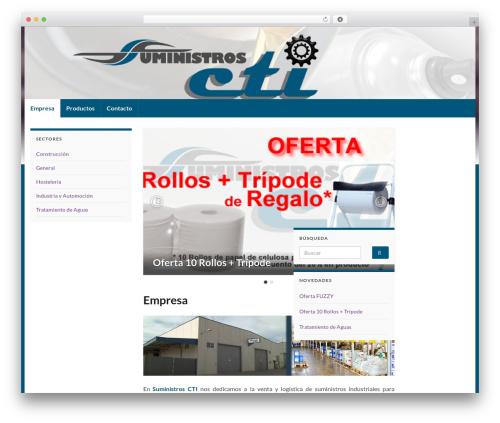 Graphene template WordPress free - ctisuministros.es