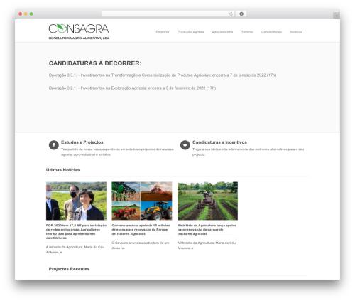 Incredible WP WordPress theme - consagra.pt
