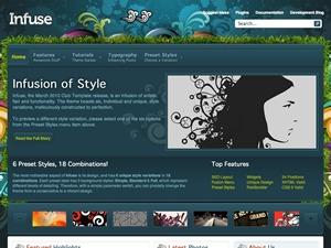 Infuse Wordpress Theme best WordPress theme