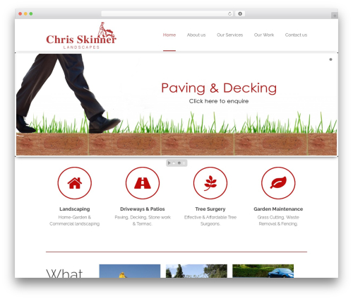 Pacific WordPress theme free download - cslandscapes.co.uk
