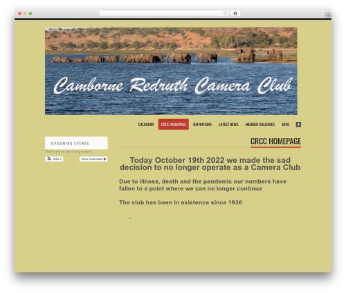 Tesla free WordPress theme - camborne-redruth-cameraclub.co.uk