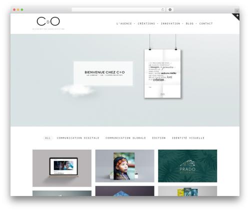 WordPress theme Vika - c-et-o.fr