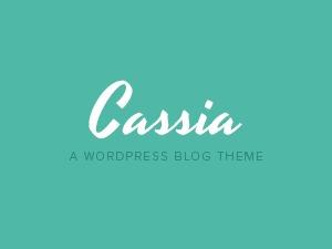 Cassia WordPress blog template