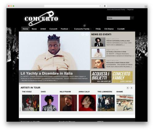 Free WordPress WordPress Picture / Portfolio / Media Gallery plugin - comcerto.it