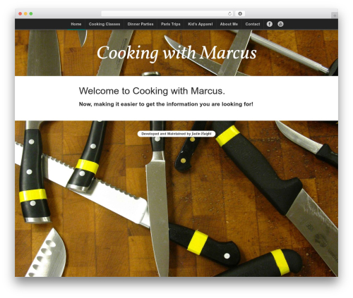 Hoon WP theme - cookingwithmarcus.com