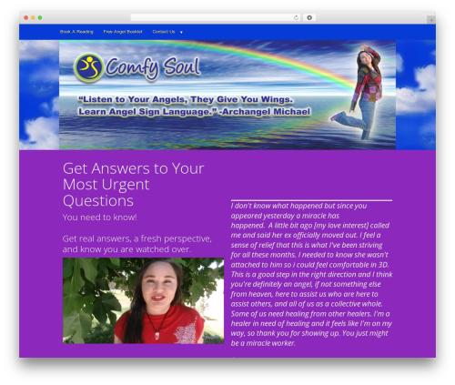 Motif top WordPress theme - comfysoul.com