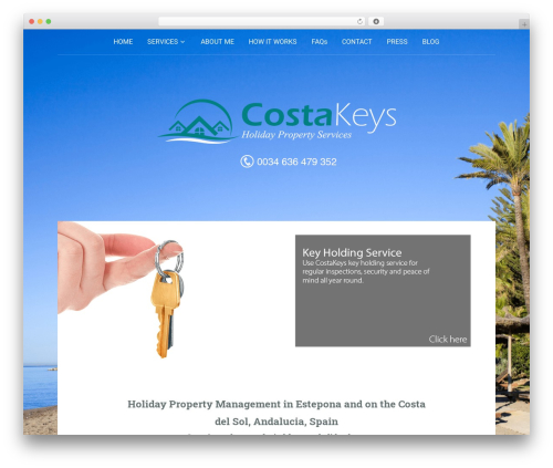 Padhang WP theme - costa-keys.com