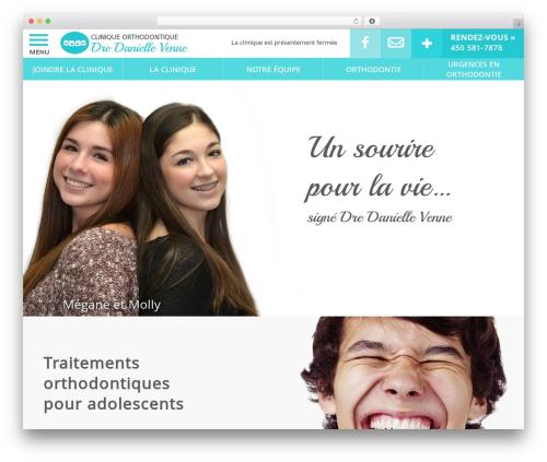 PloggMedia best WordPress template - cliniqueorthodontique.ca