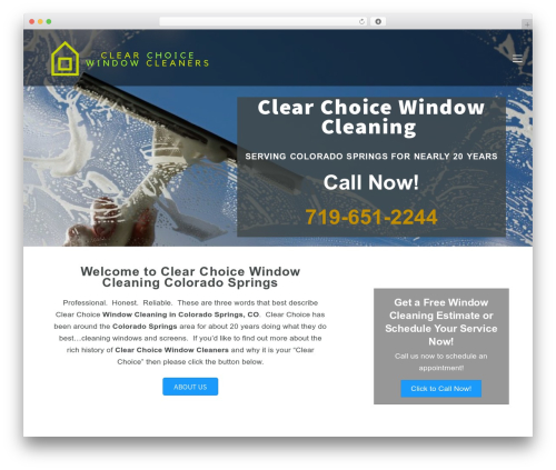 Template WordPress Themify Ultra - clearchoicewindowcleaners.com