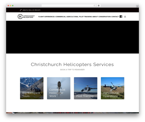 Free WordPress Snazzy Maps plugin - christchurchhelicopters.co.nz