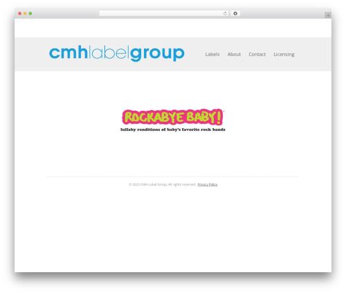 WordPress theme Fruitful - cmhlabelgroup.com