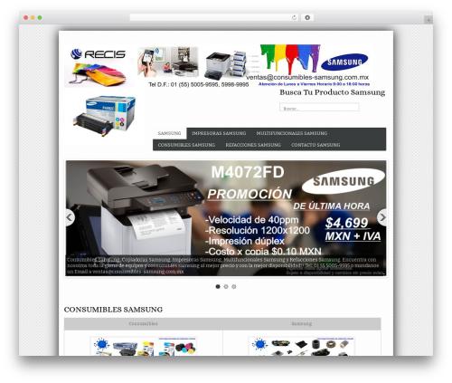 Best WordPress theme BizStudio Lite - consumibles-samsung.com.mx