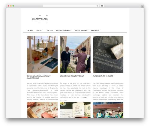 Catalyst best WordPress template - clear-village.org