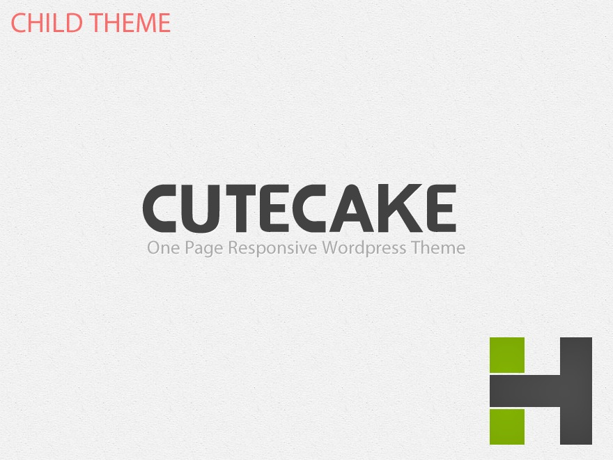 CuteCake Child theme WordPress