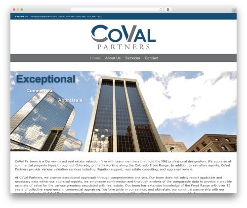 Dante WordPress template for business - covalpartners.com