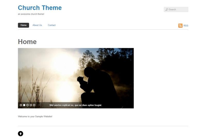 Template WordPress Basic
