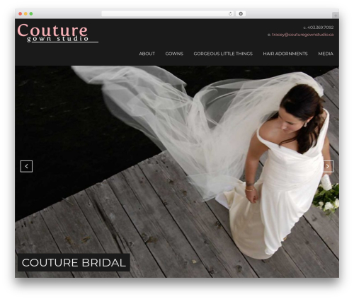 Theme WordPress Focal - couturegownstudio.ca