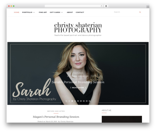 WordPress theme Activello - christyshaterianphotography.com