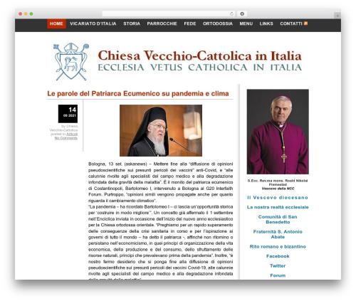 WordPress theme Yashfa - chiesaveterocattolicaromana.it