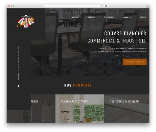 WordPress website template goarch - couvreplancherhauteville.com