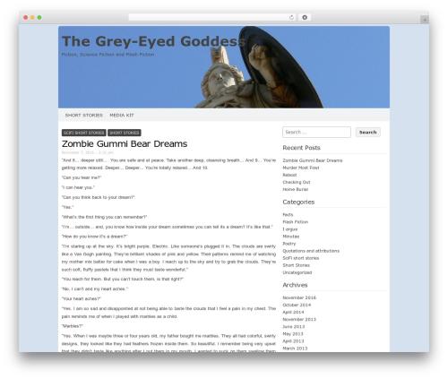 Codium Extend WordPress theme - chrisiozzo.com