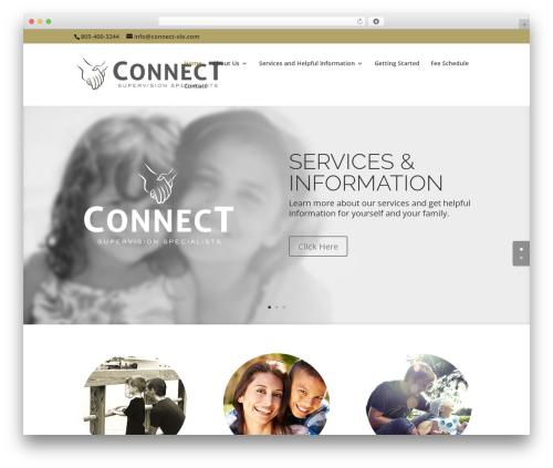 Divi WordPress theme - connect-slo.com