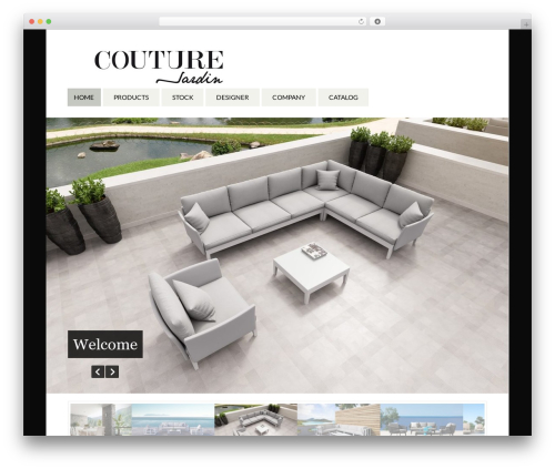 Function top WordPress theme - coutureelements.com