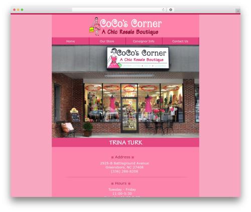 Hector best WordPress template - cocoscorner.net