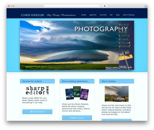 Striking MultiFlex & Ecommerce Responsive WordPress Theme WP template - chriskridler.com