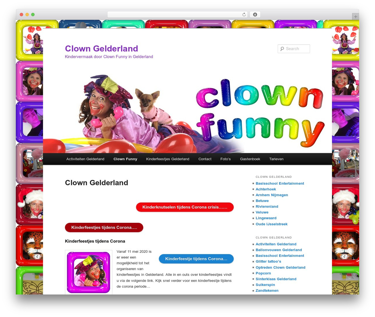 Twenty Eleven best WordPress template - clowngelderland.nl