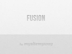 WordPress template Fusion MSMW