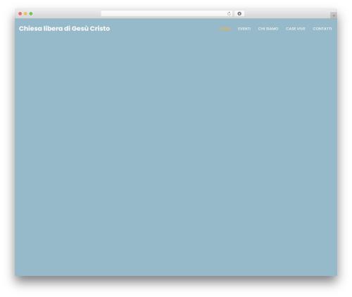 WordPress theme neve - chiesaliberadigesu.com