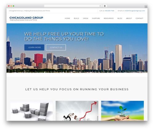 Free WordPress Connections Business Directory plugin - chicagolandgroup.com