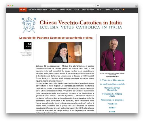WordPress website template Yashfa - chiesavecchiocattolica.it