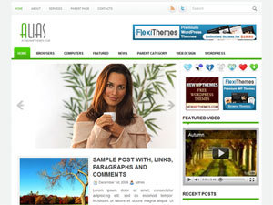 Alias best WordPress magazine theme