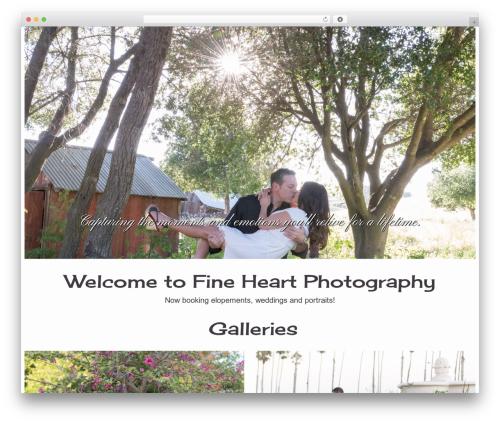 BUILDER THEME theme WordPress - fineheartphotography.com