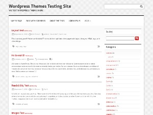 Clean and Clear WordPress blog theme