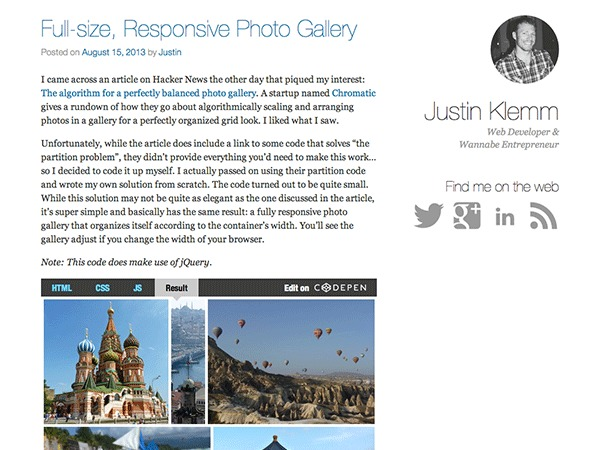 Crisp Persona WordPress blog template