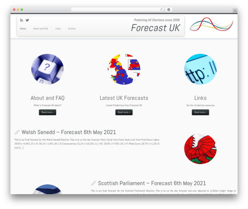 Customizr WordPress template free download - forecastuk.org.uk