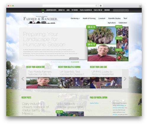 Delicate News WordPress theme - farmerandranchernow.com