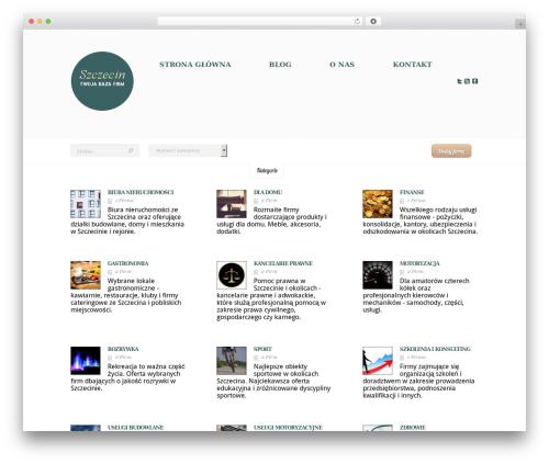 eList top WordPress theme - firmy-szczecin.pl