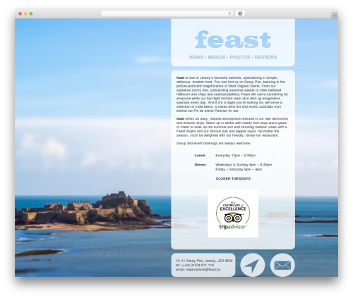 Free WordPress mb.YTPlayer for background videos plugin - feast.je